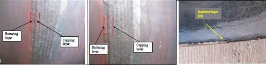 Identificación del fallo en soldadura disimilar en tubería crítica