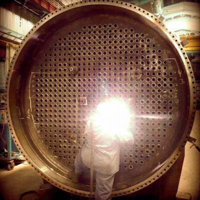 Heat Exchanger / Heat Transfer Equipment Waste Heat Boiler Manufacturing. Courtesy of GRIRO