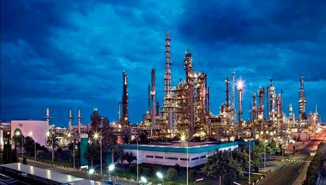 Oil refinery BP - refinería petróleo y gas