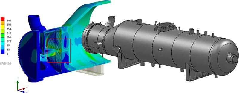 heat exchangers fatigue analysis