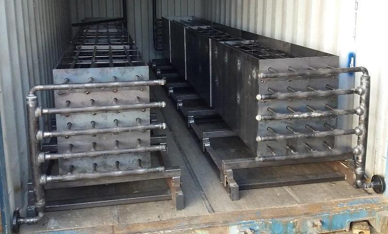 SolidTES Energy storage system - sistema de almacenamiento de energía renovable (almacenamiento térmico)