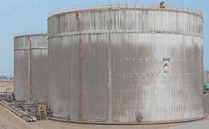 atmospheric storage tank