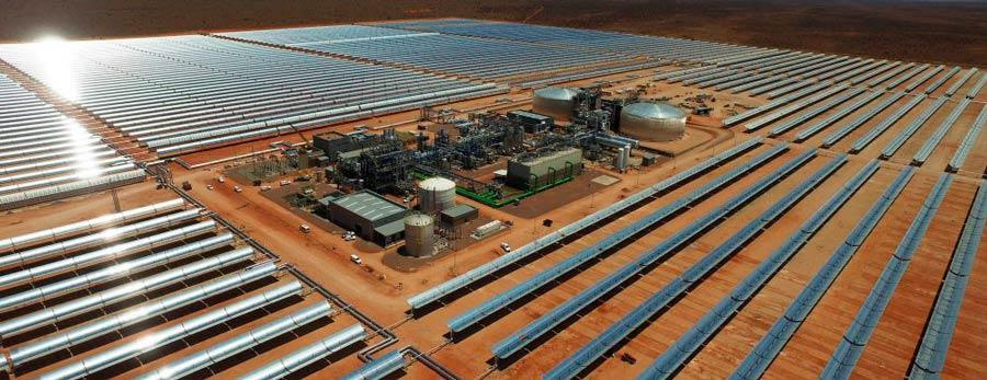 Análisis de ciclos de potencia en plata termosolar - Power Cycle Analyses in Concentrated Solar Plant (Bokpoort's picture from the sky)