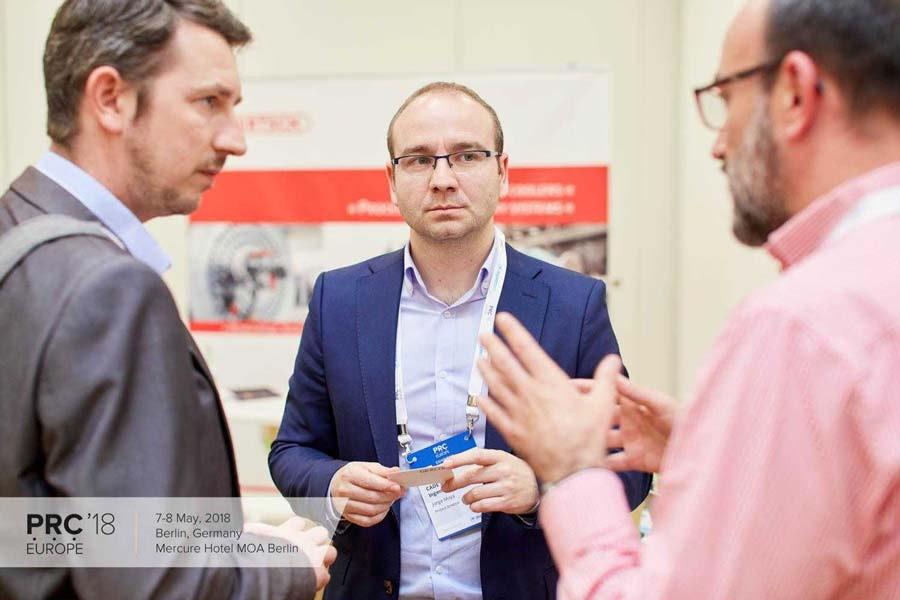 CADE, exhibitor at Petrochemical and Refining Congress in Berlin (congreso de la industria de refinería y petroquímica)