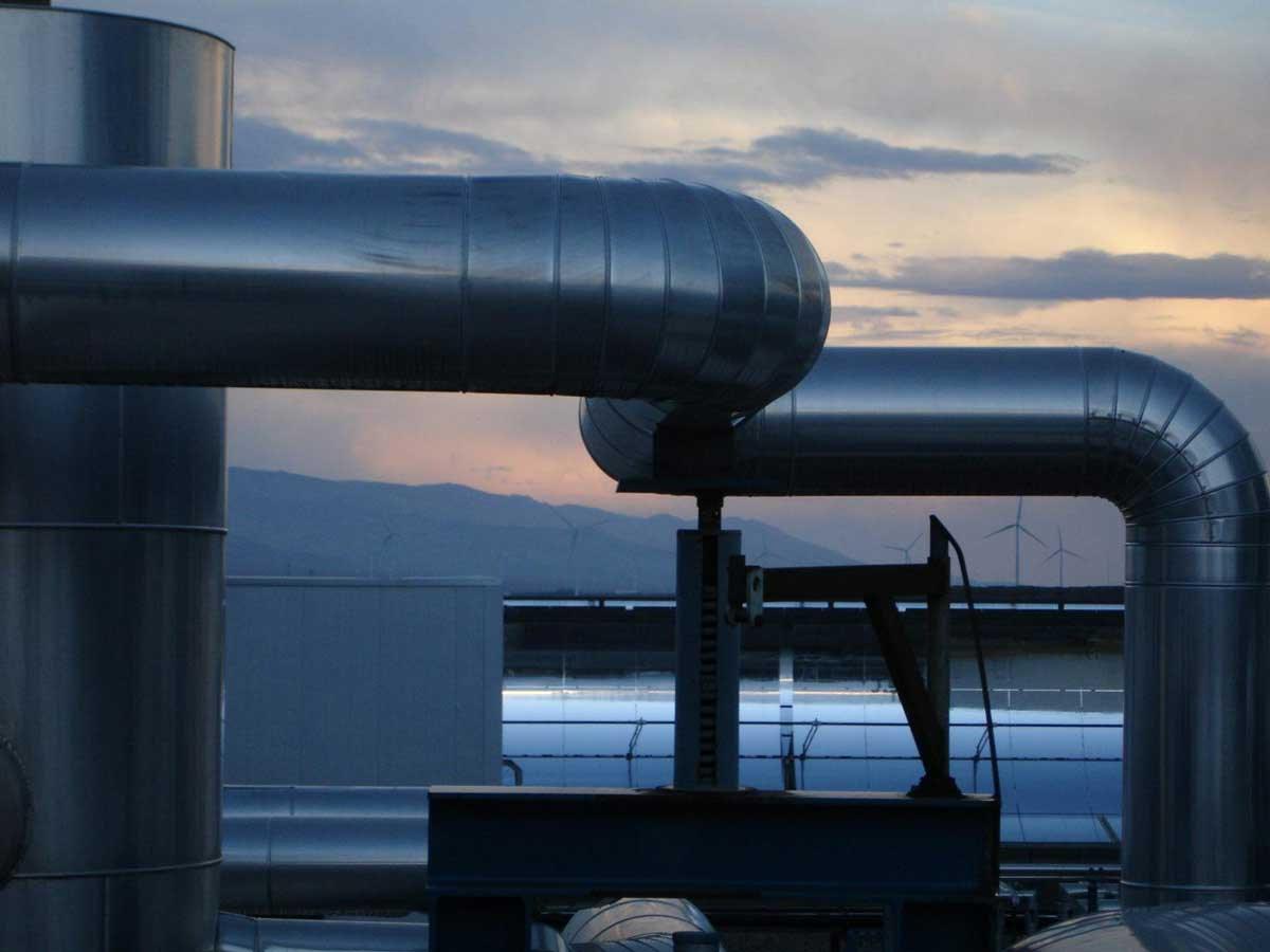 CSP Plant: C level inspections in thermosolar plantas