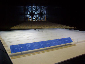 Ingeniería Estructural: Tunel de Viento en Estructuras Fotovoltaicas - Plantas Solares